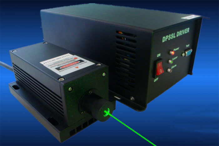 532nm 1W Green Diode Pumped Solid State laser Lab laser source