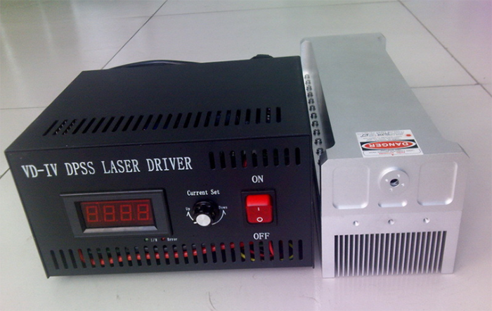 532nm 4W Green Solid-state Laser With Power Adjustable TTL And Analogue Modulation