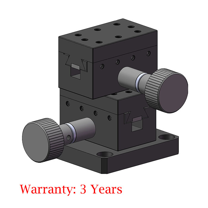 XY-axis Displacement Lift Stage Manual Precision Fine Tuning Platform Y25-42XY 25*42