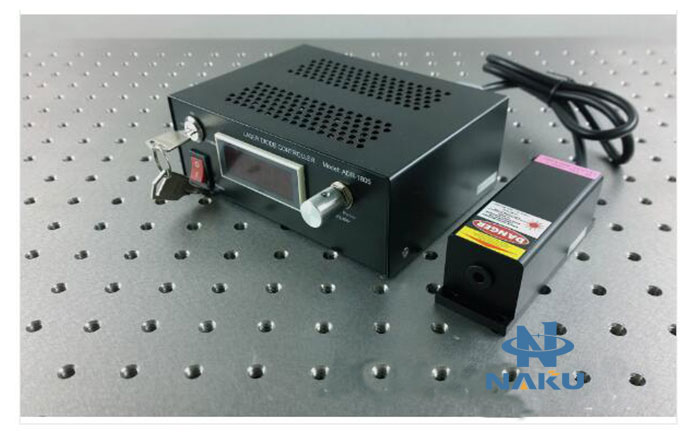 405nm 200mW Blue-violet Semiconductor laser output power adjustable