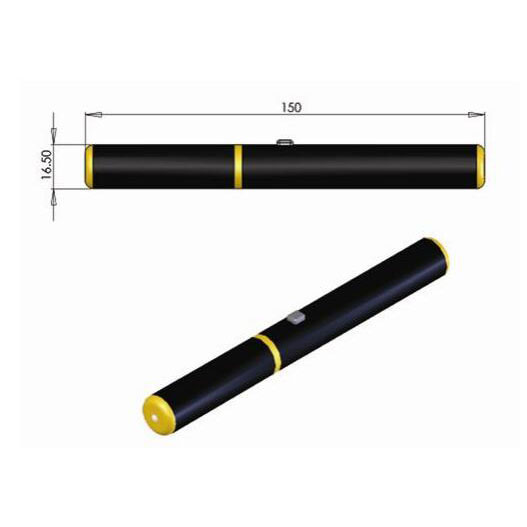 Special Safety Design 589nm Yellow Laser Pointer 2mw~10mw