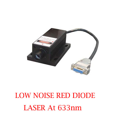Long Lifetime Easy Operating 633nm Low Noise Red Diode Laser 1~80mW