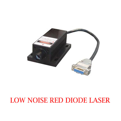 Low Cost Easy Operating 680nm Low Noise Red Diode Laser 1~800mW
