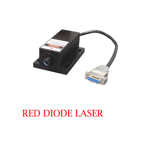 High Stability Easy Operating 730nm Red Diode Laser 1~1500mW