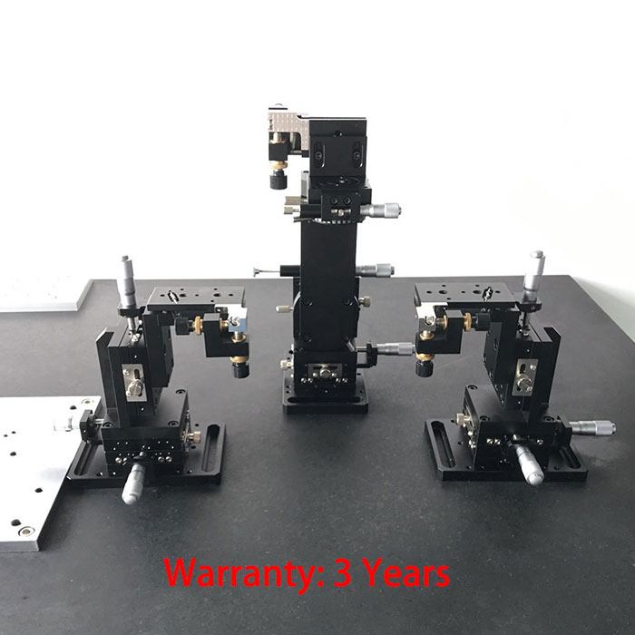Multi dimensional Five-axis Collimator adjusting rack Precision Fine Tuning Platform