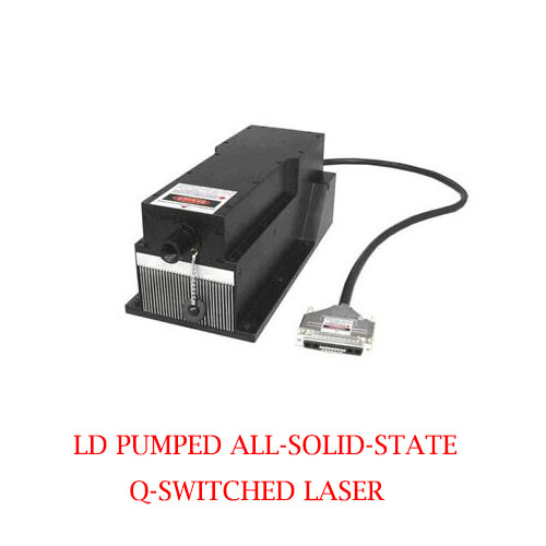 Short Pulse Duration 786nm DPSS Q-switched Infrared Laser 1~20µJ