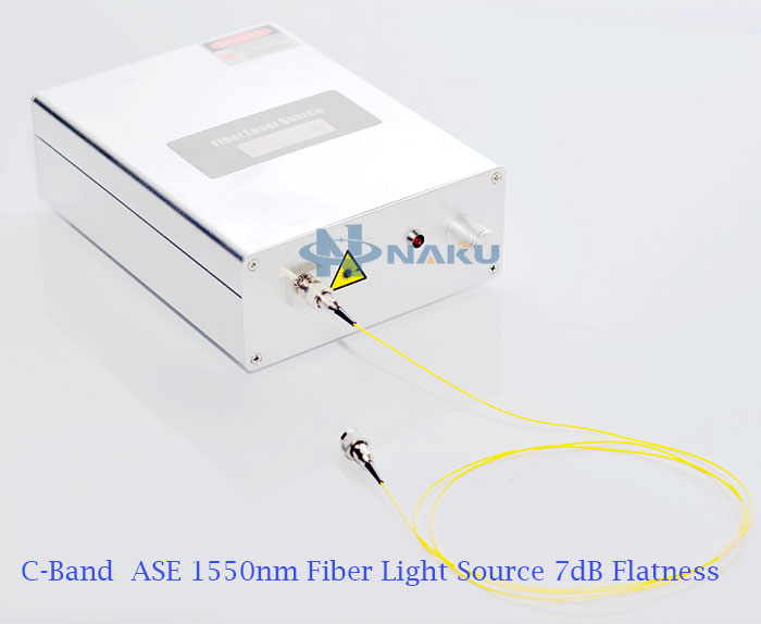 ASE Broadband Light Source 1030nm~1080nm 10dB Flatness 10mW~20mW power