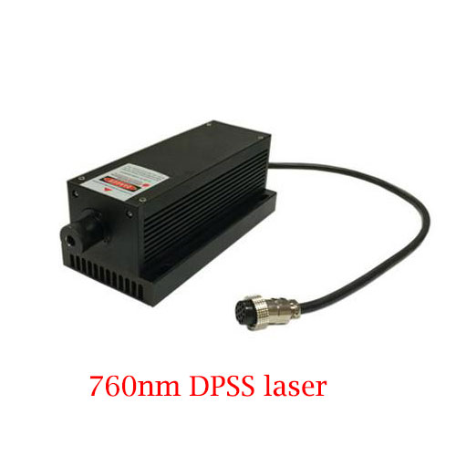 760nm 1000mW High Stability Powerful DPSS Laser Near IR Diode Laser