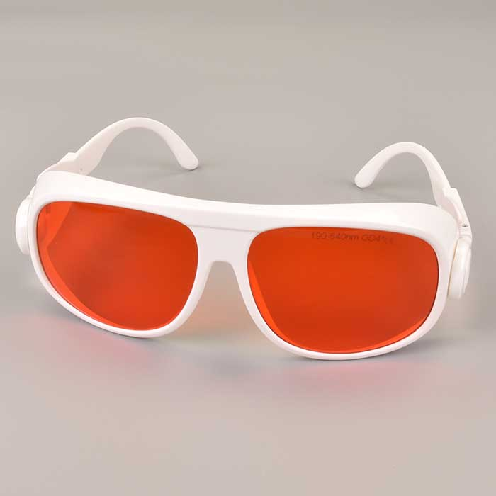 190nm-550nm Laser Goggles Protective UV and Green Semiconductor Lasers