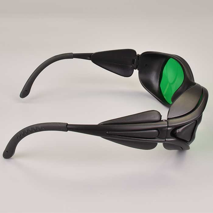 600nm-760nm Laser Safety Glasses Protect He-Ne Red Laser 671nm Red Laser LED